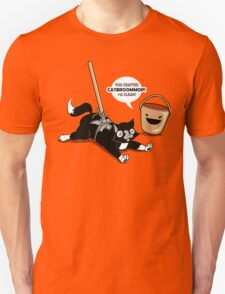 Cat Broom Mop | Geek Retro Gamer T-Shirt