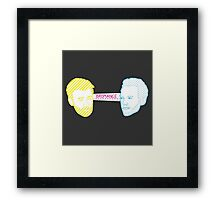 Bromance Framed Print