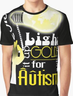 Light it up Gold 2015 Graphic T-Shirt