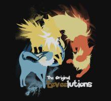 The Original Eeveelutions Shirt by jewlecho