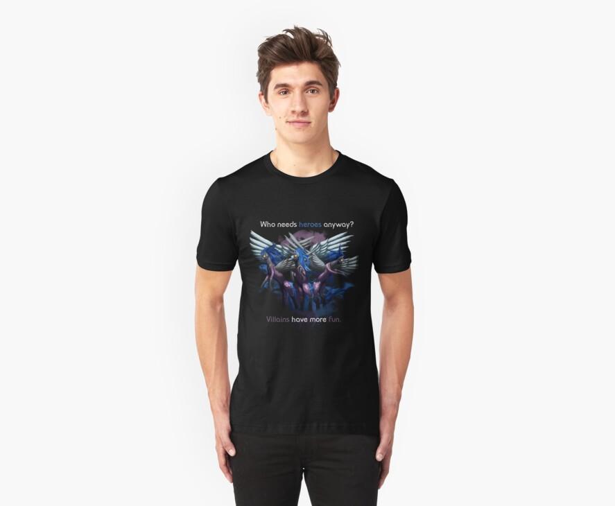 Shadowbolts Shirt by jewlecho