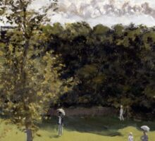 Train in the Countryside - Claude Monet - 1870 Sticker