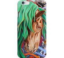 The Emerald King iPhone Case/Skin