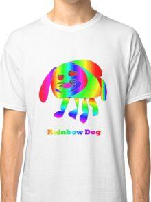 Rainbow Dog Classic T-Shirt