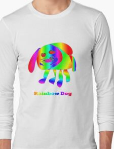Rainbow Dog Long Sleeve T-Shirt
