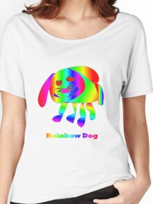 Rainbow Dog Women's Relaxed Fit T-Shirt