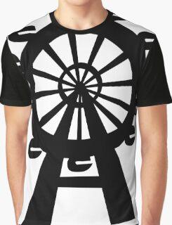 Ferris Wheel - London Eye Graphic T-Shirt
