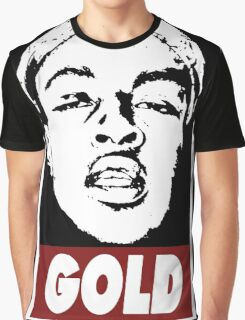 Issa Gold (the underachievers) Graphic T-Shirt