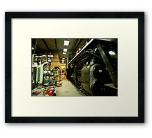 IN THE SHOP Framed Print
