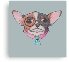 Clever Pooch Canvas Print