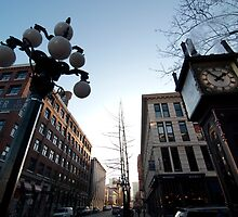 Steam Clock on Water Street - Gastown by jadennyberg