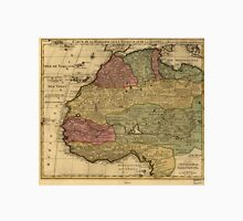Vintage Map of West Africa (1742) Unisex T-Shirt