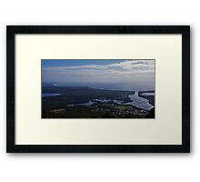 Lookout - Dooragan National Park Framed Print