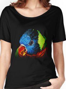 Rainbow Lorikeet Shirt Women's Relaxed Fit T-Shirt