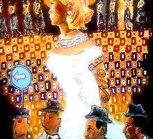 Betty in a Sea of Don Drapers by silvadove