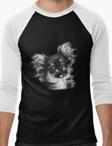Chihuahua Men's Baseball ¾ T-Shirt