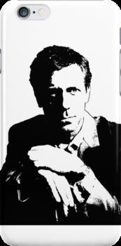 Dr Gregory House Tee, stickers, iPhone case by Lauren Eldridge-Murray