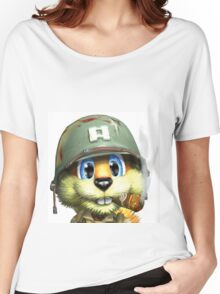 Conker The Squirrel Women's Relaxed Fit T-Shirt