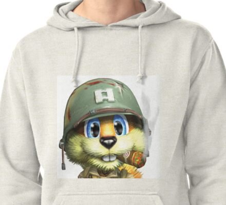 Conker The Squirrel Pullover Hoodie