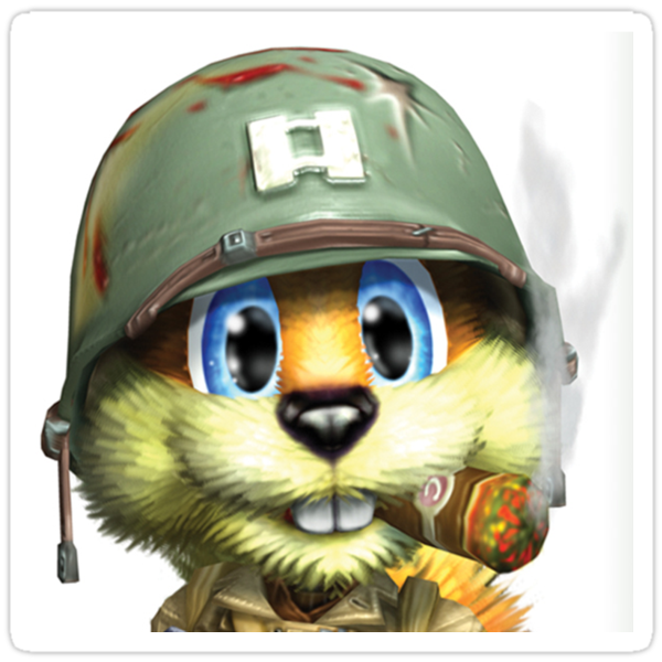 Conker The Squirrel by GravAnon