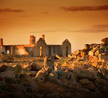 Farina Ruins, South Australia by Ian Beattie