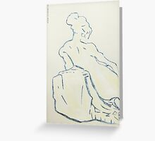 marble sculpture Greeting Card