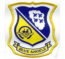 The Blue Angels Insignia Poster
