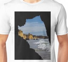 Atlantic Rocks and Wave  Unisex T-Shirt