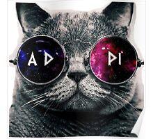 ADPi Galaxy Cat Poster