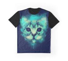 Cosmic Cat Graphic T-Shirt