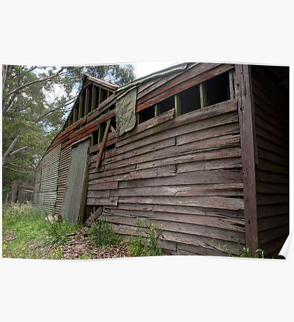 Weatherboards and Corrugated Iron Poster
