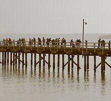 Fishing on Old school pier by bull05