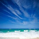 On the Beach - Stradbroke Island Qld Australia by Beth  Wode