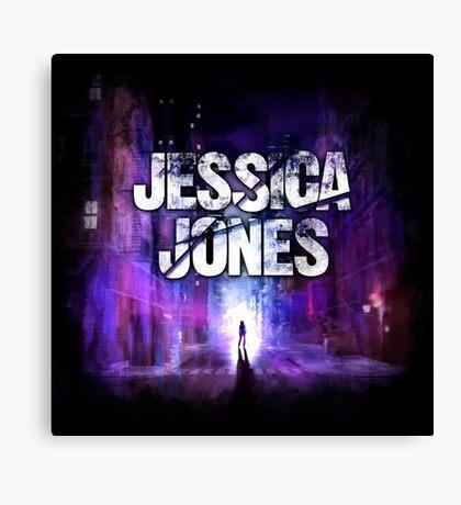 Jessica Jones - Alley Canvas Print