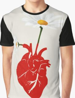 A Growing Heart Graphic T-Shirt