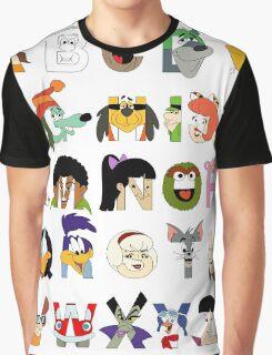 Child of the 70s Alphabet Graphic T-Shirt