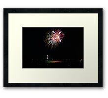 New Years 2012 - Brighton Beach #7 Framed Print