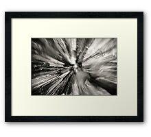 Zoom. Framed Print
