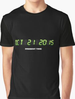 Oktober 21 2015 (Back to the Present) Graphic T-Shirt