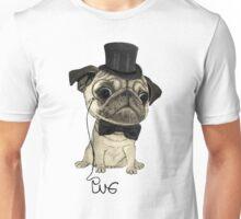 Pug; Gentle pug (color version) Unisex T-Shirt