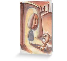 Crybaby Greeting Card