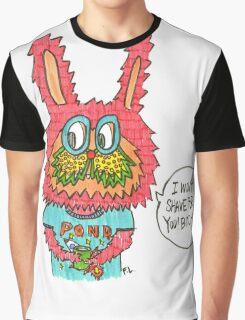 Feminist Bunny  Graphic T-Shirt