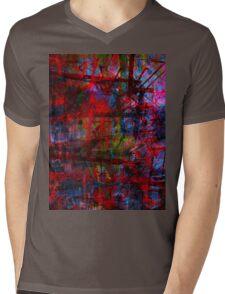 the city 43a Mens V-Neck T-Shirt