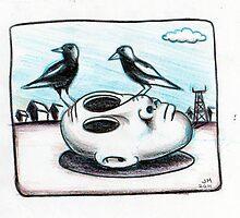 Magpie season by urbanmonk