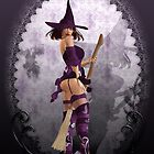 does my bum looks big on this broom ~ iphone case by Fiery-Fire