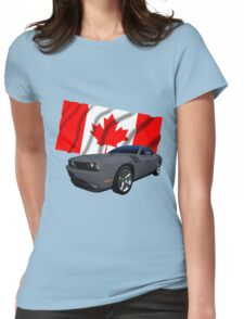 Challenger Canada Womens Fitted T-Shirt