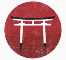 Torii - Japanese Gate Kids Tee