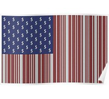 New American Flag Poster