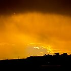 Sunset over Anglesea  by Nick Browne