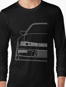 s14 outline - white Long Sleeve T-Shirt